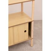 Tulia Kids Wood Shelf met opslag en plank, miniatuur afbeelding 5