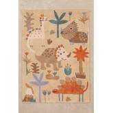 Katoenen vloerkleed (135x100 cm) Jungli Kids, miniatuur afbeelding 2
