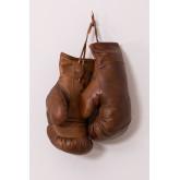 Nate lederen bokshandschoenen, miniatuur afbeelding 3