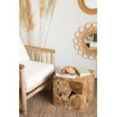 Grook houten bijzettafel, miniatuur afbeelding 1