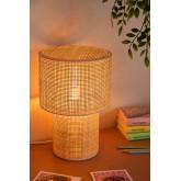 Siro rotan tafellamp, miniatuur afbeelding 2