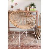 Maui stoel van synthetisch rotan, miniatuur afbeelding 1