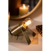 Crawl metalen tafellamp, miniatuur afbeelding 2