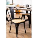 LIX houten vintage stoel, miniatuur afbeelding 1