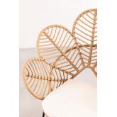 Rinum synthetische rieten fauteuil, miniatuur afbeelding 4