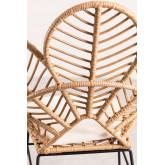 Rinum synthetische rieten fauteuil, miniatuur afbeelding 5