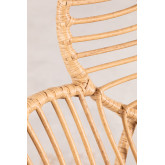 Rinum synthetische rieten fauteuil, miniatuur afbeelding 6