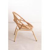 Kletta fauteuil van synthetisch rieten, miniatuur afbeelding 3