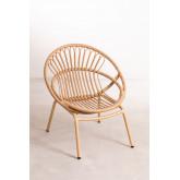 Kletta fauteuil van synthetisch rieten, miniatuur afbeelding 2
