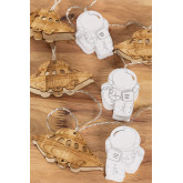 Decoratieve LED-krans (2,23 m) Espeis Kids, miniatuur afbeelding 4