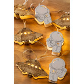 Decoratieve LED-krans (2,23 m) Espeis Kids, miniatuur afbeelding 3