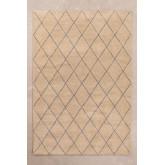 Wollen vloerkleed (233x156 cm) Kalton, miniatuur afbeelding 1
