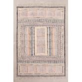 Katoenen vloerkleed (183x126.5 cm) Smit, miniatuur afbeelding 1