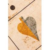 Katoenen vloerkleed (180x123 cm) Grafisch, miniatuur afbeelding 2