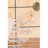 Katoenen vloerkleed (180x123 cm) Grafisch, miniatuur afbeelding 4
