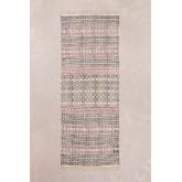Katoenen vloerkleed (203,5x78,5 cm) Sousa, miniatuur afbeelding 1