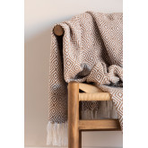 Geruite Ikurs katoenen deken, miniatuur afbeelding 1