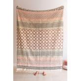 Claiper katoenen plaid deken, miniatuur afbeelding 1