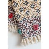 Geruite deken in Tenesi katoen, miniatuur afbeelding 3