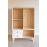 Boxy houten kleerkast voor kinderen, miniatuur afbeelding 3