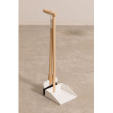 Edin Kids Wood Broom and Dustpan, miniatuur afbeelding 2