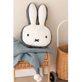 Roger Kids katoenen pluche konijn, miniatuur afbeelding 1