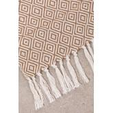 Geruite Ikurs katoenen deken, miniatuur afbeelding 4