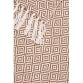 Geruite Ikurs katoenen deken, miniatuur afbeelding 3