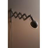 Uitschuifbare wandlamp Adan, miniatuur afbeelding 4
