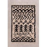 Katoenen vloerkleed (190x122 cm) Tiduf, miniatuur afbeelding 2