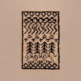 Katoenen vloerkleed (190x122 cm) Tiduf, miniatuur afbeelding 6