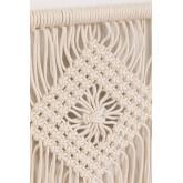 Wandtapijt met wandplank in Luad katoen, miniatuur afbeelding 3