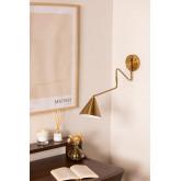 Wandlamp Fleka Goud, miniatuur afbeelding 1
