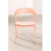 Stapelbare stoel in gemberhout, miniatuur afbeelding 4