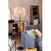Kapua bamboe vloerlamp, miniatuur afbeelding 1