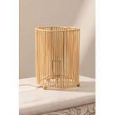 Khumo bamboe tafellamp, miniatuur afbeelding 3