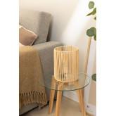 Khumo bamboe tafellamp, miniatuur afbeelding 1