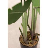 Decoratieve kunstmatige bananenplant, miniatuur afbeelding 3