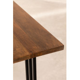 Rechthoekige eettafel in mangohout (180x90 cm) Betu, miniatuur afbeelding 6