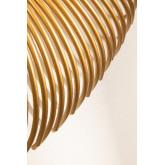 Ronde metalen wandspiegel Nazar, miniatuur afbeelding 5