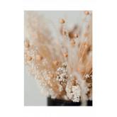 Set van 2 decoratieve vellen (50x70 cm) bloemen, miniatuur afbeelding 2