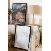 Set van 2 decoratieve vellen (50x70 cm) Dream, miniatuur afbeelding 1