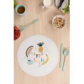 Fruti Kids ronde vinyl placemat, miniatuur afbeelding 1