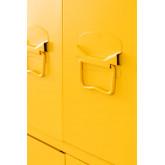 Pohpli metalen locker met 6 deuren, miniatuur afbeelding 3