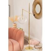 Metalen vloerlamp Lomy, miniatuur afbeelding 1