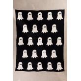 Fantom katoenen plaid deken, miniatuur afbeelding 2