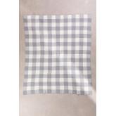 Kalai katoenen plaid deken, miniatuur afbeelding 2