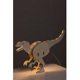 Dino Kids tafellamp, miniatuur afbeelding 2