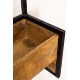 Selan houten wandkapstok, miniatuur afbeelding 5
