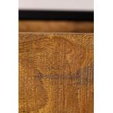 Selan houten wandkapstok, miniatuur afbeelding 6